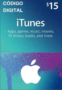 Gift Card Apple $15 Dólares - iTunes Gift Card USA
