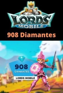 Lords Mobile 908 Diamantes - Android