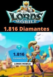 Lords Mobile 1.816 Diamantes - Android