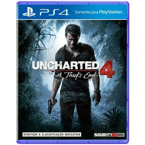 Jogo Uncharted 4: A Thiefs End Para PS4
