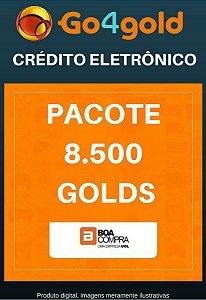 Crédito Go4Gold Boa Compra 8.500 Créditos Gold