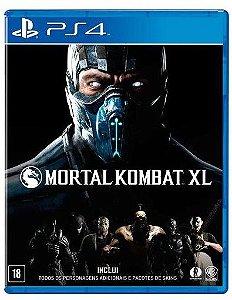 Jogo Mortal Kombat XL Para PS4