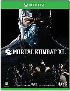 Jogo Mortal Kombat XL Para Xbox One