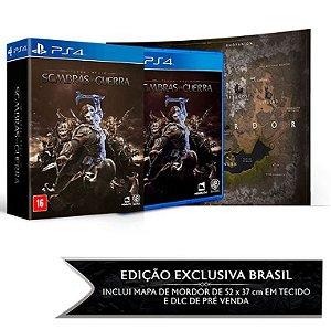 Game Sombras da Guerra Edição Limitada - PS4