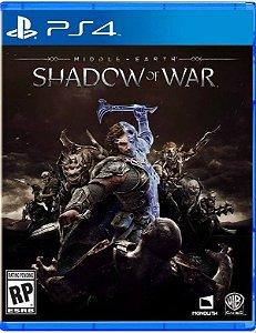 Game Terra-média: Sombras da Guerra - PS4