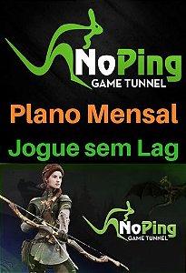 Cartão Pré Pago Noping Game Tunnel - Plano Mensal