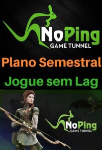 Cartão Noping Game Tunnel - Plano Semestral