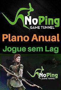 Cartão Pré Pago Noping Game Tunnel - Plano Anual