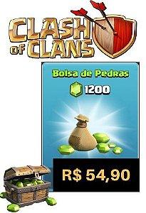 Gemas Clash Of Clans 1200 Gemas - Cartão Google Play Store
