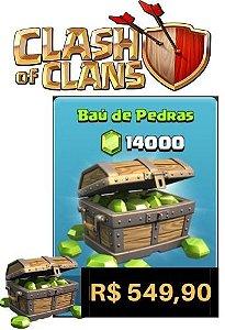 Gemas Clash Of Clans 14000 Gemas - Cartão Google Play Store