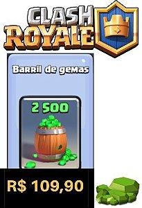 Cartão Clash Royale 2500 Gemas - Google Play Brasil