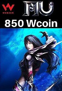 MU Online Pacote de 850 Wcoin - MU Online Webzen