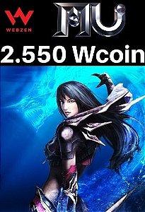 MU Online Pacote de 2.550 Wcoin - MU Online Webzen