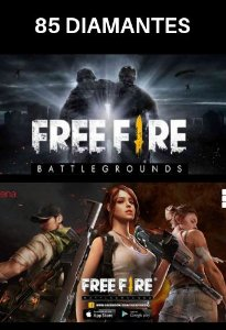 Garena Free Fire - 85 diamantes