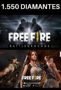 Garena Free Fire - 1.550 diamantes