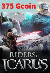 Cartão Riders of Icarus 375 Gcoin - Valofe