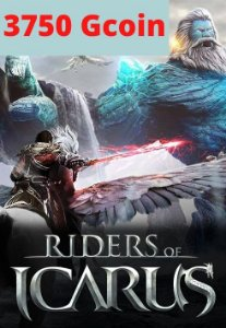 Cartão Riders of Icarus 3750 Gcoin - Valofe