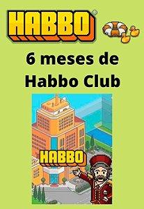 Habbo Hotel - 6 meses de Habbo Club