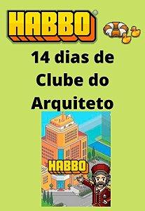 Habbo Hotel - 14 dias de Clube do Arquiteto