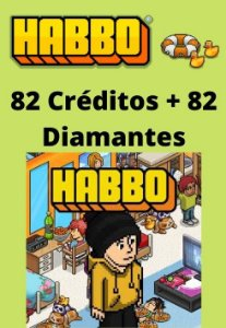 Habbo Hotel - 82 Créditos + 82 Diamantes