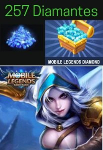 Diamantes Mobile Legends - 257 Diamond