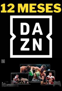 DAZN 12 Meses - Streaming Smart TV Online de Esportes ao Vivo