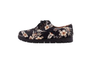 Oxford Tratorado Floral Black