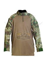Uniforme Camisa Tática Combat Shirt Atacs FG