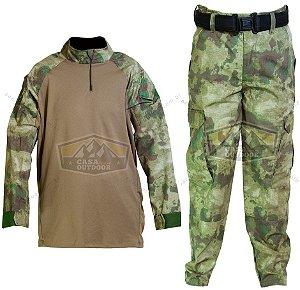Uniforme Completo Conjunto Calça e Camisa Atacs FG