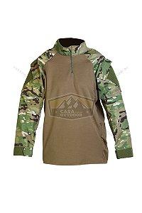 Uniforme Camisa Tática Combat Shirt Multicam