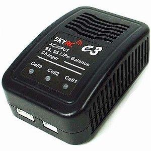 Recarregador de Bateria Lipo 2s 3s SkyRC e3 Original