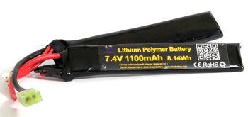 Bateria para Airsoft Lipo 2s 7,4v 1100mah 20c Parabellum