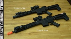 Rifle de Airsoft Calibre 6mm Elétrico Modelo Krytac Trident CRB MKII