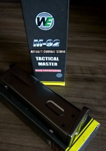 Carregador / Magazine para Beretta M92 WE