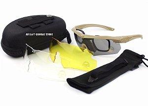 Óculos de proteção Balística ESS CROSSBOW 5 lentes