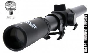 Luneta Scope Titan 4x20mm Preta