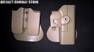 Coldre em polímero IMI Defense para pistola 1911