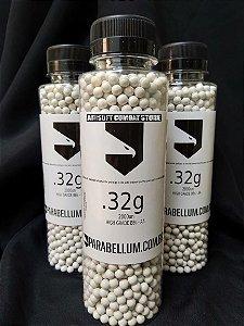 Esferas Plásticas 6mm Parabellum SRC BBs 0.32g 2000un Heavy Grade