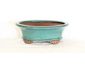 Vaso Bonsai Literato Oval 19x14x6cm