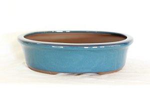 Vaso Bonsai Literato Oval 18x13x6cm