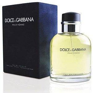 Perfume Dolce & Gabbana Pour Homme 125ml Masculino-original