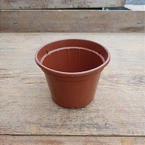 Kit 10 Vasos Marrom Pote 13