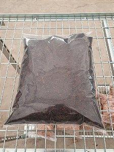 Substrato Palha de Arroz Carbonizada - Pacote 800g