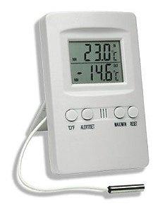 Termômetro Digital com Alarme com Máxima e Mínima Incoterm 7427.02.0.00