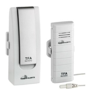 WeatherHub – Monitor de temperatura para smartphone  com transmissor de temperatura com sonda externa Incoterm