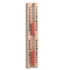 Ampulheta para Sauna Incoterm T-DIV-0120.00