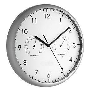 Relógio com Termo-Higrômetro Incoterm A-DIV-0054.00