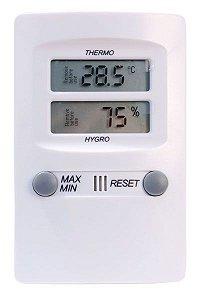 Termo-Higrômetro Digital Temperatura e Umidade Interna Incoterm 7429.02.0.00