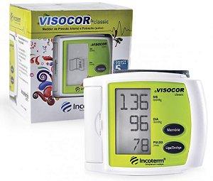Medidor de Pressão Digital Visocor Pulso Verde Incoterm 29846.5