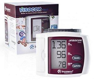 Medidor de Pressão Digital Visocor Pulso Bordô Incoterm 29846.6